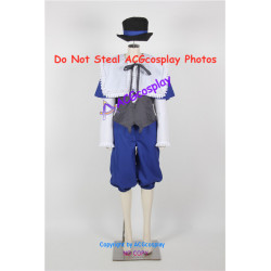 Rozen Maiden Souseiseki Lapis Lazuli Star cosplay costume include hat