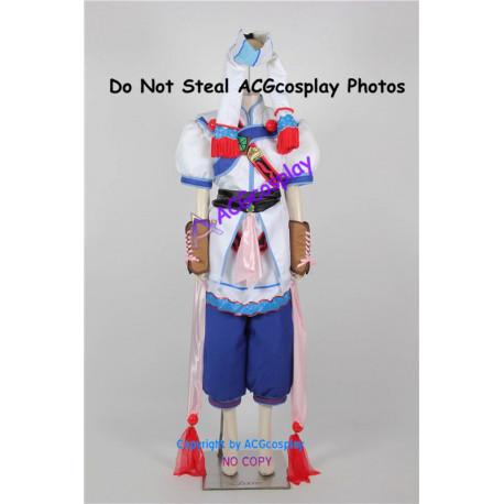 Grandia II Elena cosplay costume include balls props