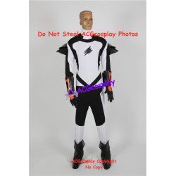 Power rangers jungle fury master swoop bat ranger cosplay costume include boots covers