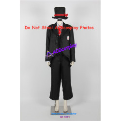 Black Butler Kuroshitsuji Joanne Harcourt Cosplay Costumes include hat