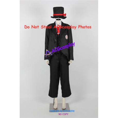 Black Butler Kuroshitsuji Joanne Harcourt Cosplay Costumes include hat