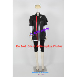 Guilty Crown Tsugumi Cosplay Costume include pvc prop headwear