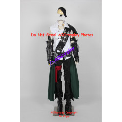 Final Fantasy xiv thancred cosplay costume include prop ornaments and boots covers