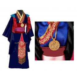 Princess Mulan cosplay costume commission request