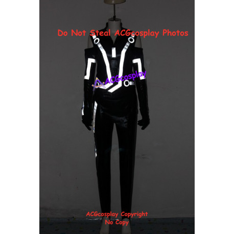 Tron Legacy Quorra Cosplay Costume with light reflection strip