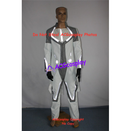 Tron Legacy Zuse Castor Cosplay Costume with light reflection strip