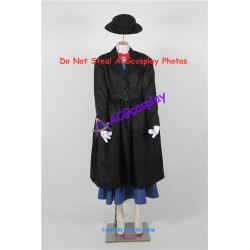 Disney Mary Poppins  Cosplay Costume include hat