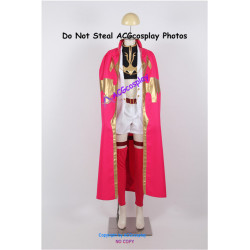 Code Geass Anya Alstreim Cosplay Costume with pink cloak