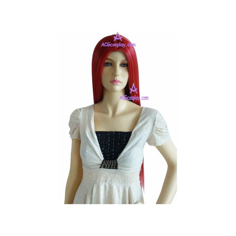 Womens Red Wig 107