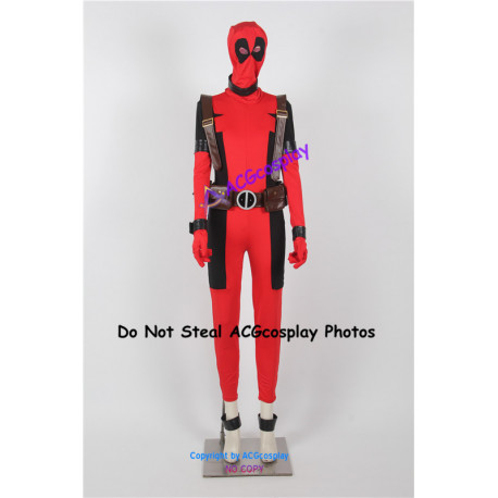 Marvel X-men The Wolverine Female Deadpool Cosplay Costume