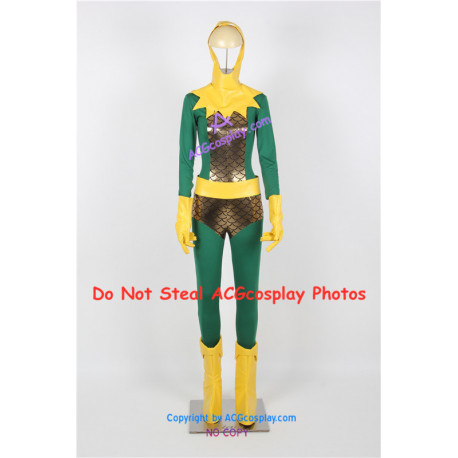 Marvel Comics The Avengers Thor Loki Cosplay Costume include boots covers