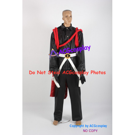 G.I.Joe cosplay Cobra Commander cosplay costume faux leather made