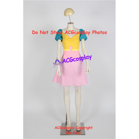 Steven Universe Past Pearl Cosplay Costume dress