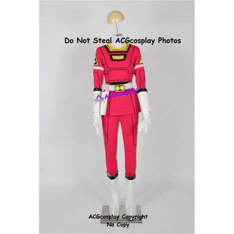 Power Rangers Turbo Cosplay Pink Turbo Ranger Cosplay Costume incl. boots covers
