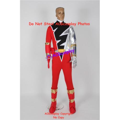Power Rangers dino knight red Kishiryu Sentai Ryuusouger Ryuusou red ranger cosplay costume