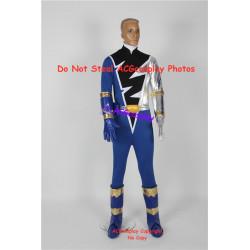Power Rangers dino knight blue Kishiryu Sentai Ryuusouger Ryuusou blue ranger cosplay costume