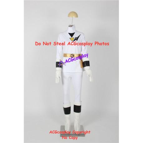 Power rangers Tsuruhime ninja white ranger Kaku ranger female ranger cosplay costume