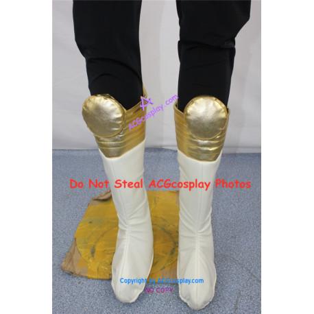Power Rangers Choriki Sentai Ohranger King Ranger cosplay boots cosplay shoes