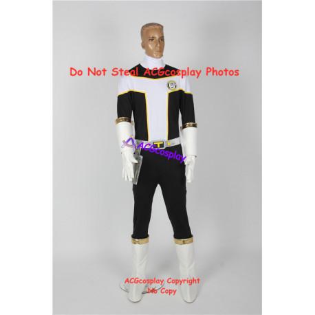 Power Rangers Kousoku Sentai Turboranger Black Turbo Daichi Yamagata cosplay costume