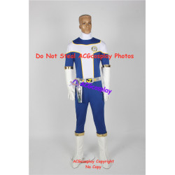 Power rangers Kousoku Sentai Turboranger Blue Turbo Youhei Hama cosplay costume