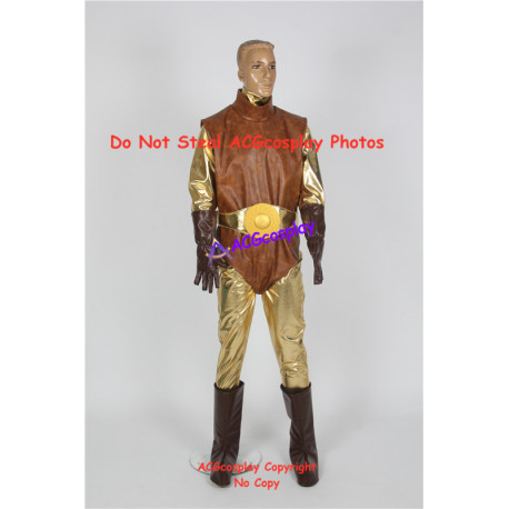 Spectreman cosplay costume include boots covers and big belt buckle prop