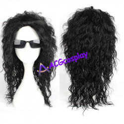 Last Dragon Sho Nuff wig Cosplay wig shonuff Harlem wig black curly wig