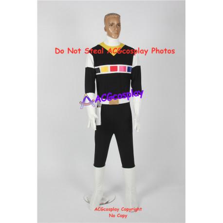 Power Rangers in Space Carlos black space ranger cosplay costume