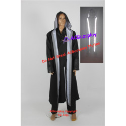 Tron Legacy Cosplay Kevin Flynn Cosplay Costume with fluorescent strip