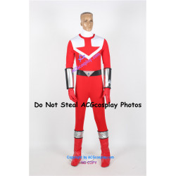 Power Rangers Time Force Time Force Red Ranger Cosplay Costume only bodysuit