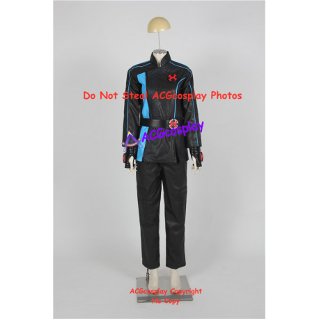 Power Rangers Ninja Storm Hurricane Blue Ranger Cosplay Costume