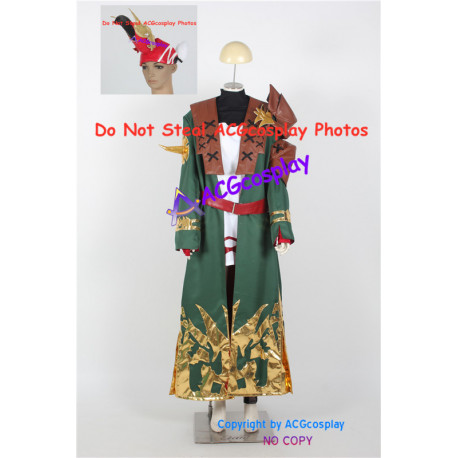 Final Fantasy XIV Cosplay Summoner Cosplay Costume include headwear