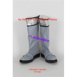 Power Rangers Time Force silver ranger Joe silver time force ranger cosplay boots shoes