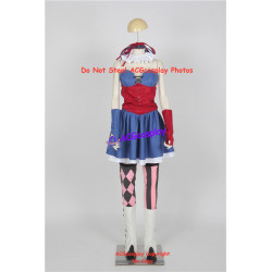 Harley quinn cosplay costume from dc comics include boots covers