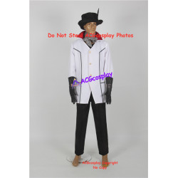 RWBY Roman Torchwick Cosplay Costume male version include hat and feather
