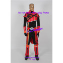 Power rangers spd dekaranger cosplay costume with boots covers