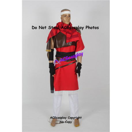 Fire Emblem Shadow Dragon Jeorge Cosplay Costume include sword bag