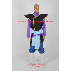 Dragon Ball Super Zamasu Cosplay Costume include boots covers