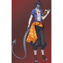 Cyrus cosplay costume incl real shoes cosplay