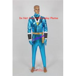 Power rangers Saizou ninja blue ranger Kaku ranger cosplay costume coating spandex make