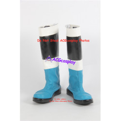 Power rangers Saizou ninja blue ranger Kaku ranger cosplay boots shoes