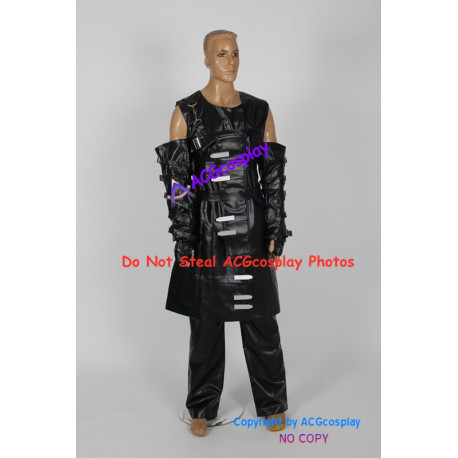 Resident Evil Nemesis Cosplay Costume faux leather made incl pants and buttons props