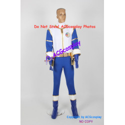 Gosei Sentai Dairanger Cosplay Costume for blue ranger cosplay include boots covers