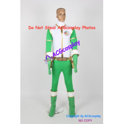 Gosei Sentai Dairanger Cosplay Costume for Green ranger cosplay incl boots covers