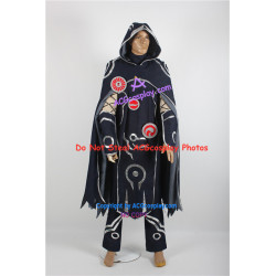 Magic the Gathering Jace Beleren cosplay costume denim fabric made include emblem props