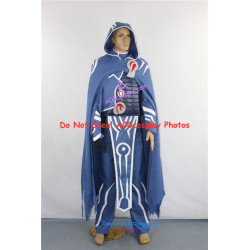 Jace Beleren cosplay costume from Magic the Gathering cosplay include emblem props