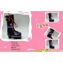 Black Martin boots version1 lolita shoes boots cosplay shoes