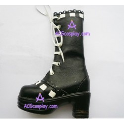Black Martin of bud silk boots lolita shoes boots cosplay shoes