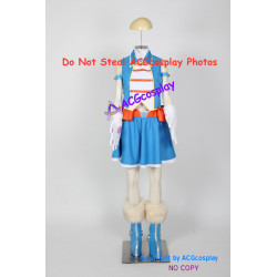My Hero Academia Pussycats blue cosplay costume include boots covers