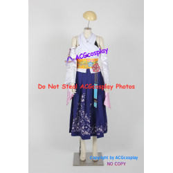 Final Fantasy X 10 Yuna cosplay costume