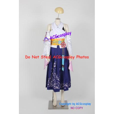 Final Fantasy X 10 Yuna cosplay costume